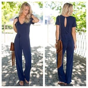 ⭐️JUST IN New Soft Navy Jumpsuit